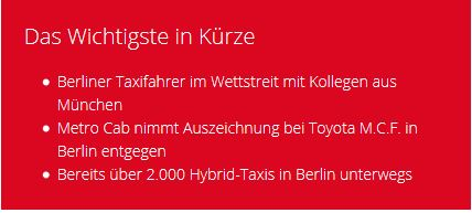 news taxi challenge info